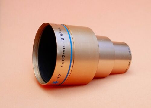 ISCO OPTIC 65mm f1.9 - fast Ultra Star HD 35mm Cine Projection Lens in EX+ shape