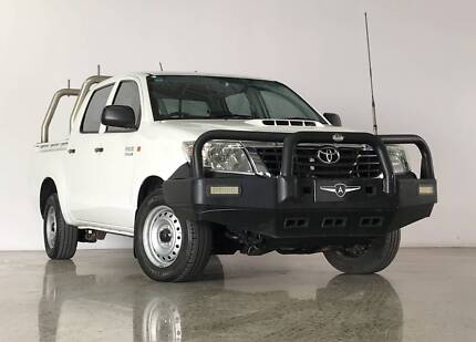 2014 Toyota Hilux SR Dual Cab Turbo Diesel Ute Ashmore Gold Coast City Preview