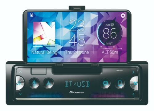 Pioneer SPH-C10BT Flagship Smartphone Multimedia Tuner Smart Sync Connectivity
