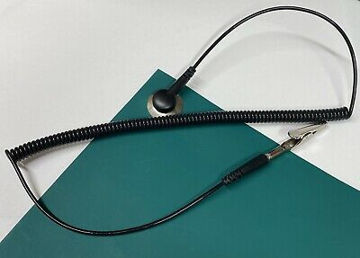 Desktop Anti Static Esd Mat Ground Kit Includes Snap Wire And Alligator Clip