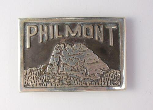 Philmont Scout Ranch SOLID Sterling Silver Tooth of Time Belt Buckle - Boy Scout