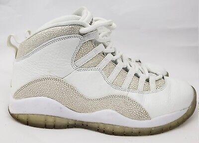 san francisco 05839 380db Nike Air Jordan 10 Retro OVO White Gold MENS Style   819955-100 Size 9 Drake