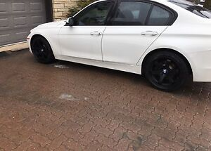 Bmw Black  Mags +winter  tires  continental 225-45-18