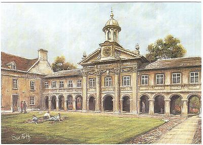 NEW! CAMBRIDGE University - Emmanuel College -  large sized art postcard