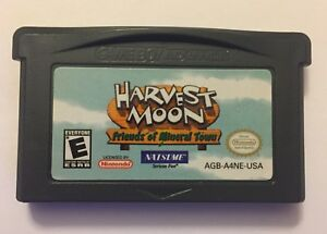 GBA Harvest Moon Friends of Mineral Town Gameboy Advance