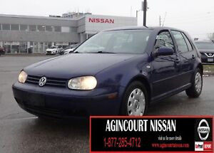 2006 Volkswagen Golf GLS |AS-IS SUPER SAVER|