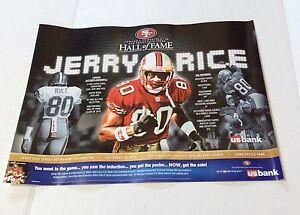 Jerry Rice Poster Ebay