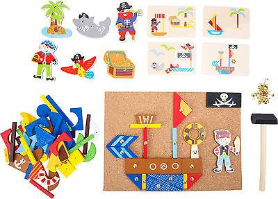 Piraten Hämmerchenspiel für Kinder Kreativität Feinmotorik Spielzeug Kinder - Piraten Spielzeug Für Kinder