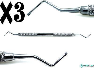 3 Dental Excavator 815-a Restorative Double Ended Spoon 1.2mm Upgraded Tools