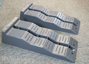 Pair of Fiamma Level Up / Levellers / Levelling Ramps for Motorhome Caravan Ramp