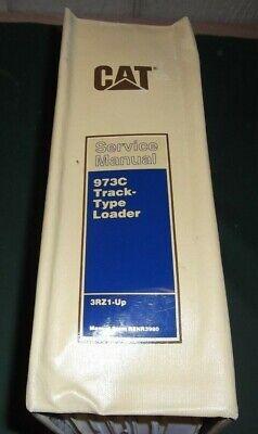 Cat Caterpillar 973c Track Loader Service Shop Repair Book Manual Sn 3rz1-up