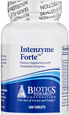 Biotics Research - Intenzyme Forte 500 - Forte 500 Tablets