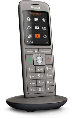 """GigaSet schnurloses Telefon CL660 HX anthrazit/schwarz ! VoIp 2,4"""" Display DECT"""
