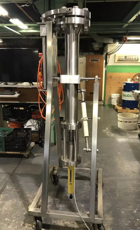 High Pressure Stainless Steel Chromatography Column