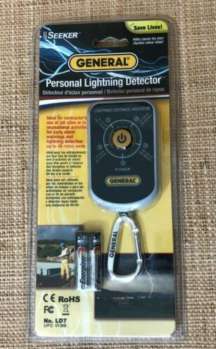 General Tools LD7 Personal Lightning Detector