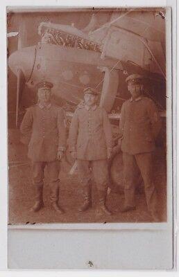 84798 Foto Ak Soldat der Feldfliegerabteilung 34 Mazedonien um 1915