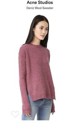 ACNE STUDIOS Deniz Wool Sweater S / Small $300