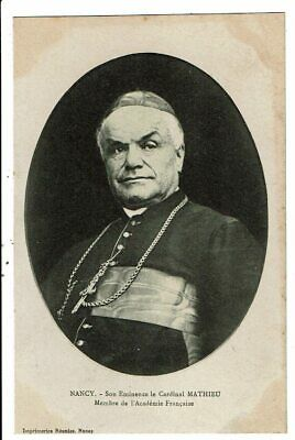 CPA-Carte Postale -France-Nancy- Son Éminence le Cardinal Mathieu  VM7522