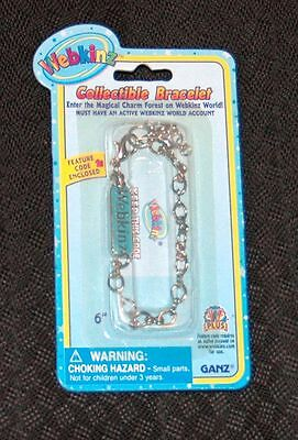 WEBKINZ COLLECTIBLE CHARM BRACELET NEW WITH UNUSED SEALED CODE~FAST FREE $0 SHIP