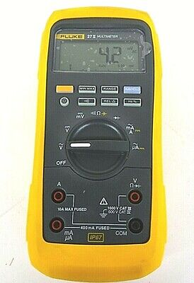 Fluke 27 Ii Digital Multimeter - Free Shipping