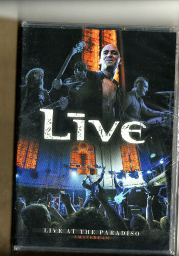 Live - DVD -Live At The Paradiso-17 Tracks-New-Sealed-2008-Vanguard Records-Mint