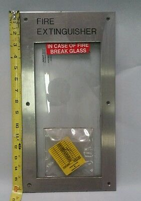 Fire Extinguisher Metal Cover Break Glass