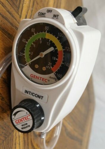 Gentec vacuum regulator 881VR-160-DS-D with wall connect
