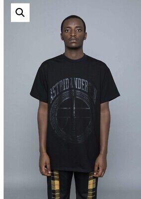 Astrid Andersen Oversize Black/black T-shirt Sz M