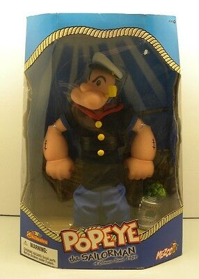 Popeye the Sailorman 12 Inch Mezco Action Figure Toys R Us Exclusive TRU Spinach