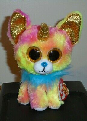 Ty Beanie Boos ~ YIPS the Unicorn Chihuahua Dog w/Horn (6 Inch) 2019 NEW IN HAND