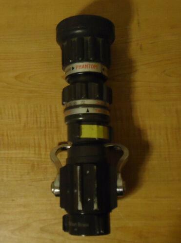 "Elkhart Brass Phantom Fire Nozzle 1.5"" NH/NST 75 psi 30-200 gpm"