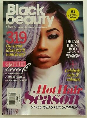 Black Beauty Hot Hair Season Bikini Bod Get Look June July 2016 FREE SHIPPING JB
