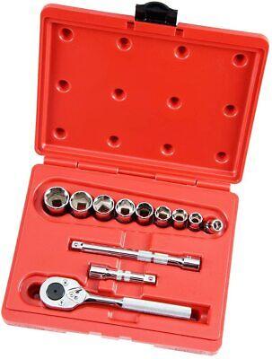 New Proto J52128 12 Piece 38 Drive 6 Point Socket Set