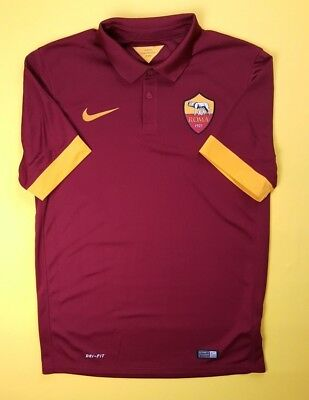 4.9 5 Roma jersey small 2014 2015 home shirt 635811-678 soccer Nike ig93 c47f151c28f7d