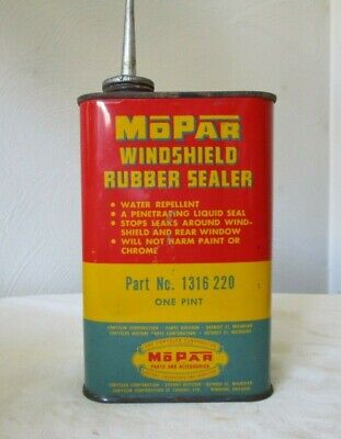 MOPAR Parts And Accessories Windshield Rubber Sealer Can Chrysler Corporation