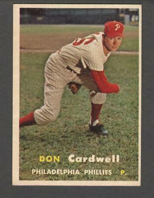 1957 Topps #374 Don Cardwell