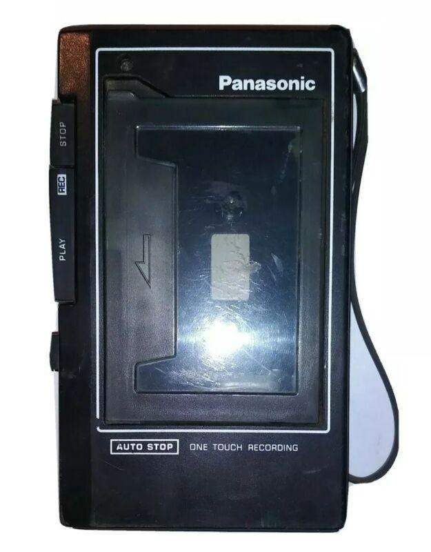 Vintage Panasonic RQ-331 Handheld Cassette Voice Recorder Player Walkman