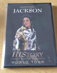 Michael Jackson HIStory World Tour DVD - Live In Munich 1997