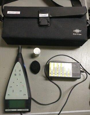Bruel Kjaermodel2238mediatorintegratingsound Levelmeter 4188 Microphone