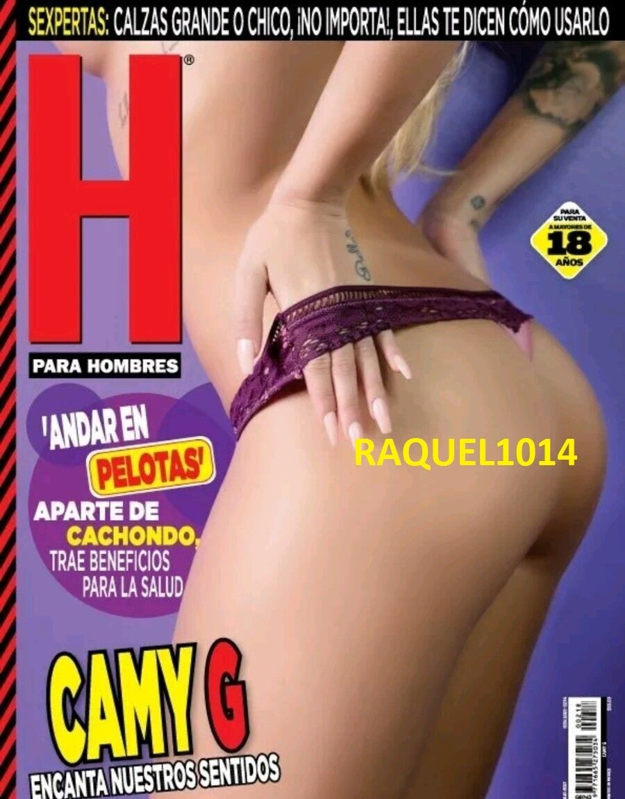 Amanda Rosa H Extremo revista h camy g julio july 2017 h para hombres