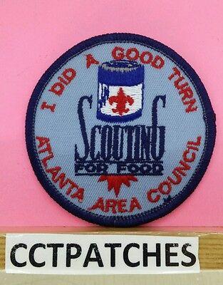 Bereich Pfad (BSA Atlanta Bereich Rat Pfadfinder für Lebensmittel I DID A Good Turn Boy Scout)