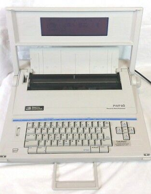 Smith Corona Pwp60 5c Personal Word Processor Typewriter Screen And Disk Drive
