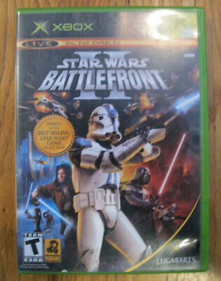 Star Wars BATTLEFRONT II 2 - Microsoft Xbox - Complete - Tested - Free Shipping