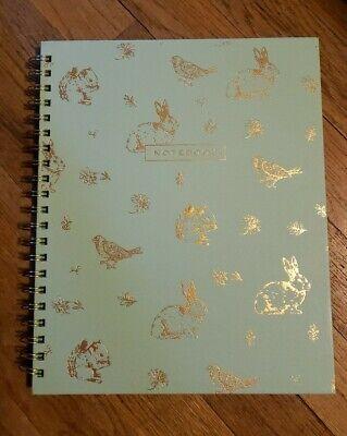 Martha Stewart Spiral Notebook Woodland Creatures 9 14 X 11 14 200 Lnd Sheets