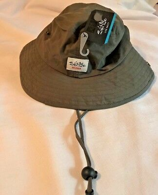 NWT SALT LIFE Olive Green  Boonie Hat-Bungee Adjustment  Boonie Hat Olive