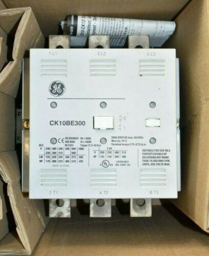 GE General Electric CK10BE311J Definite Purpose IEC Contactor CK10BE300 NOS