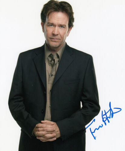 Timothy Hutton signed Leverage 10x8 photo AFTAL Full Signing Details COA [16212]
