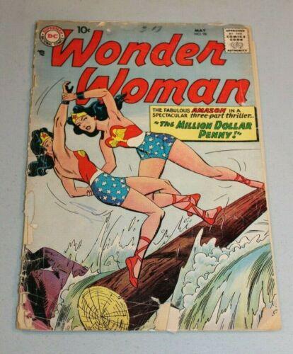 Wonder Woman #98 DC 1958 1st Silver Age APP Wonder Woman Scarce Key Holy Grail