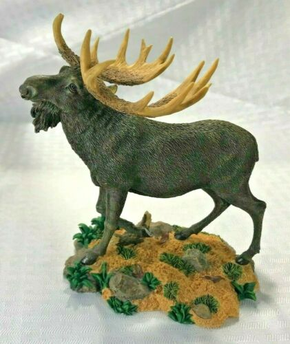 Westland Gift-ware Wildlife  Moose Statue Figurine Numbered 14214