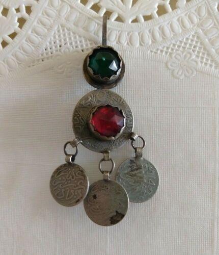Vintage Berber Silver Earring - Single Earring